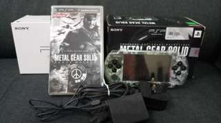 PSP 3000 Limited Edition Army collection