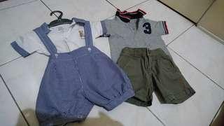 Branded boys apparel 9-15months