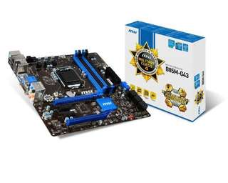 MSI B85M-G43 Motherboard