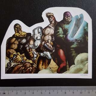 🚚 C5 Marvel Wrecking Crew Sticker Stickers