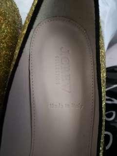 J. CREW 金色高跟鞋