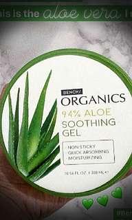 Bench Organic Aloe Vera Soothing Gel