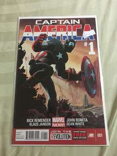 Captain America #1 #caroucomicon