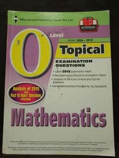(3 for $5) O level Maths