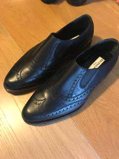 Clearance: Balenciaga Men's Loafer Leather Shoes