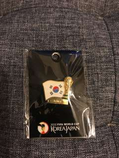 2002 World Cup pin - korea