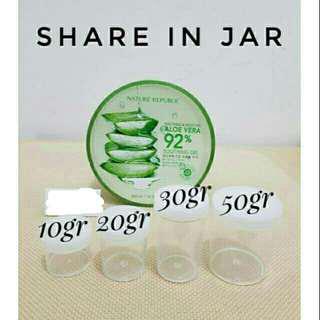 Nature republik 100% original  share in jar