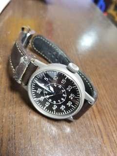 laco pilot watch w/o logo 42mm ,not rolex iwc sinn omega stowa steinhart