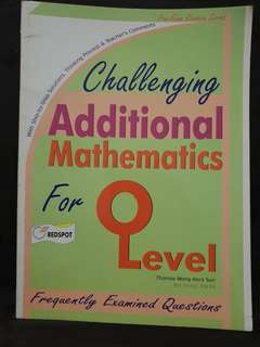 (4 for $10) o Level Maths