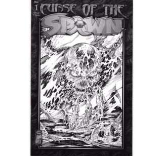 CURSE OF SPAWN #1 (1996) Black & White Variant