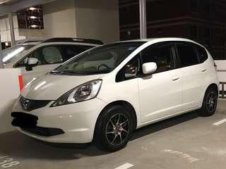 Honda fit 14 inch with yokohama bluearth tyre