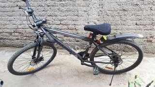 Sepeda gunung MTB + gitar