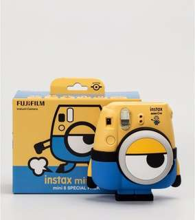 Fujifilm Inastax Mini 8 Minion Edition