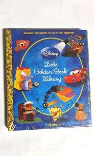 Pixar Golden Books Library 5 books slipcase  hardcovers