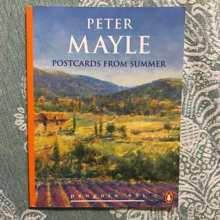 Book 📖: Postcards from Summer by Peter Mayle