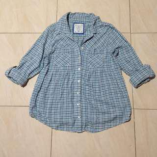 STYLE & CO PLAID TOP