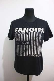 Topshop black tshirt