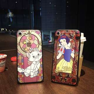 iPhone case 立體浮雕 愛麗絲 alice 美人魚 白雪公主 snow-white marie貓