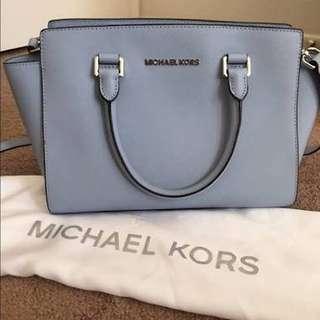 Michael Kors Selma Medium blue