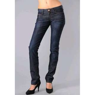 Rare! Earnest Sewn 'DECCA' Straight Leg Jeans- Size 26- As seen on Hollywood Celebrities- US$300=15,600
