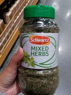 英國Costco代購Schwartz Mixed Herb 100g