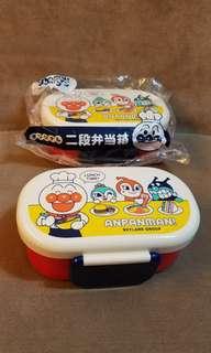 全新麵包超人 兩段食物盒