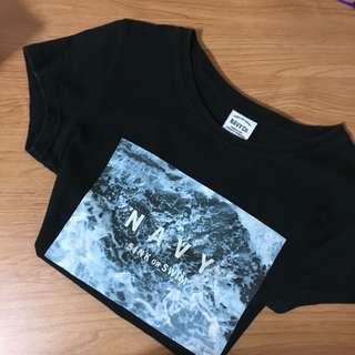 🚚 Navy T恤