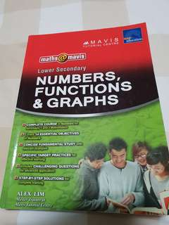🚚 Lower Sec Numbers, Functions & Graphs