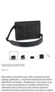 Louis Vuitton Messenger PM FW2018 Rare!!!!