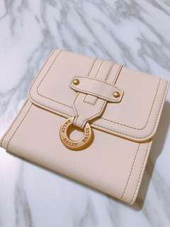 BALLY Leather Wallet in Cream 短銀包