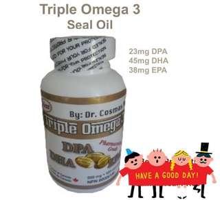 🇨🇦加拿大直送海豹油丸 Triple Omega 3