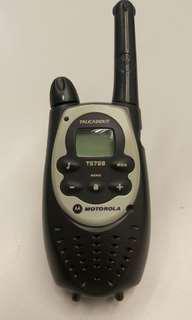 Motorola T5728 walkie talkie 對講機 香港合法使用版本