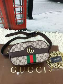 gucci sling and pouch