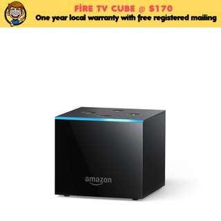[IN-STOCK] Fire TV Cube | Hands-Free with Alexa and 4K Ultra HD | Streaming Media Player