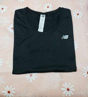 (Size:L)正版New Balance女裝運動透氣T-Shirt(專門店購買/98%新)Made in Indonesia~1