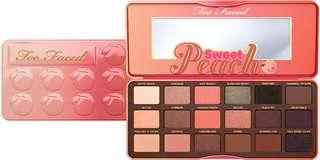 🚚 BNIB Too Faced Sweet Peach Eye Palette
