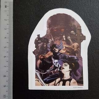 C5 Marvel Lethal Legion Sticker Stickers