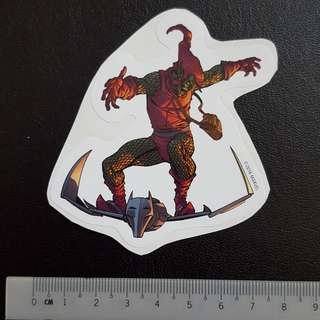C5 Marvel Green Goblin Sticker Stickers