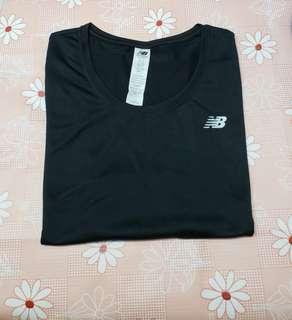 (Size:L)正版New Balance女裝運動透氣T-Shirt(專門店購買/98%新)Made in Indonesia~3