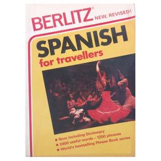 BERLITZ SPANISH PHRASEBOOK FOR TRAVELLERS (COLOUR CODED)