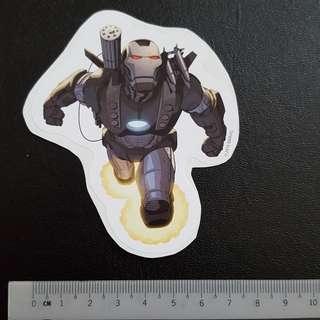 C5 Marvel War Machine Sticker Stickers