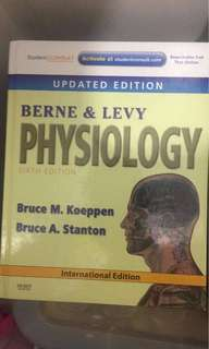 Medical Book ( Berne and Levy 6th Ed )