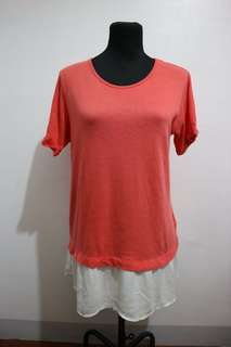 bossini long blouse