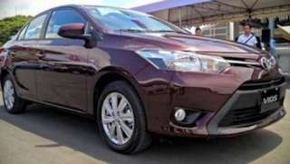 toyota vios 2016 car rental