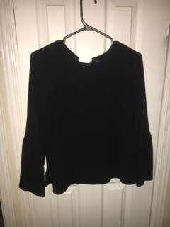 Aritzia Wilfred blouse size medium
