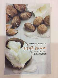 Nature Republic Sheet Mask Shea Butter