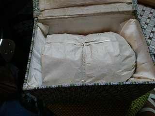 96年存倉貨。景德鎭手繪蓝瓷多角碗