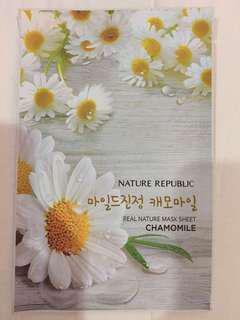 Nature Republic Mask Sheet Chamomile