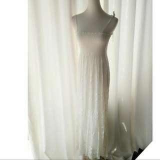🚚 全新.滿版蕾絲女神平口洋裝