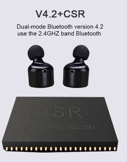🚚 Enjoy music in the Gym!! A Great Wireless Bluetooth Earphone / Earphones to have!!